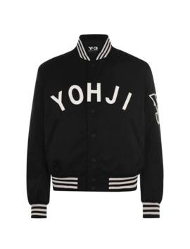 Yohji Letter Bomber Jacket by Y3