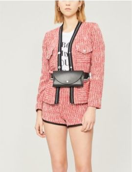 Vivor Tweed Jacket by Maje