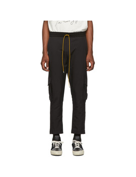 Ssense Exclusive Black Soho House Edition Cargo Pants by Rhude