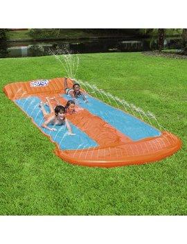 H2 Ogo! 18' Triple Lane Water Slide With Ramp by Bestway