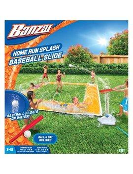 14 Ft X 14 Ft Homerun Splash Baseball Slide by Banzai
