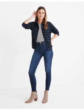 "10"" High Rise Skinny Jeans: Insuluxe Denim Edition by Madewell"