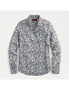 Perfect Shirt In Liberty® Sea Grass Floral by Perfect Shirt In Liberty