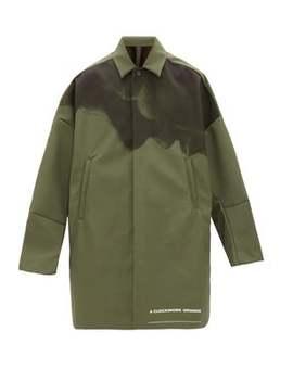 A Clockwork Orange Print Technical Overcoat by Undercover