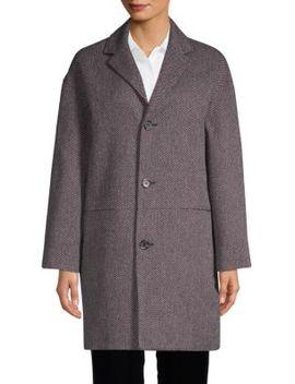 Textured Cotton Blend Coat by A.P.C.