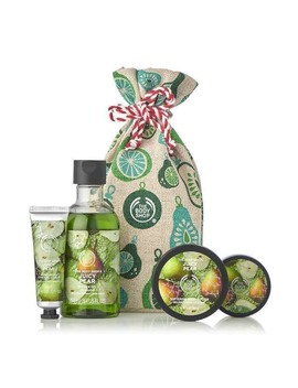 Juicy Pear Festive Sack by The Body Shop
