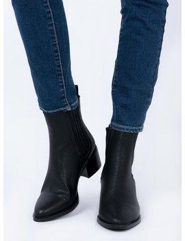 Billini Eamon Boots Black Burnished by Billini