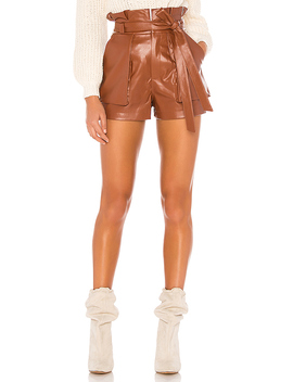 Tia Short In Chestnut Brown by Lovers + Friends
