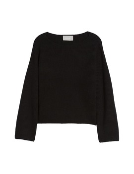 The Cashmere Rib Boatneck Sweater by Everlane