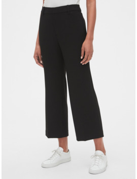 High Rise Wide Leg Crop Pants by Gap