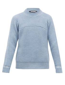 Louis Ribbed Merino Wool Sweater by Jacquemus