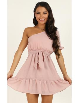 Summertime Beauty Dress In Blush by Showpo Fashion