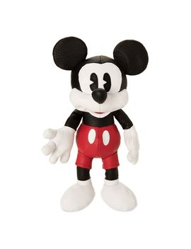 Mickey Mouse Simulated Leather Plush – Small – 10'' | Shop Disney by Disney