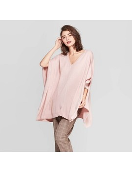 Women's Pullover Poncho Wrap Jacket   A New Day™ One Size by A New Day