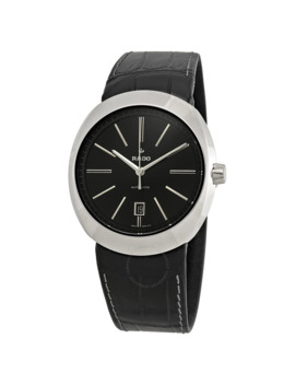 D Star Automatic Black Dial Men's Watch by Rado