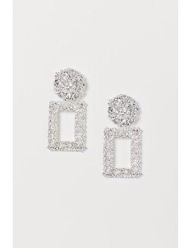 Rectangular Earrings by H&M