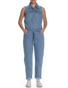 Tapered Leg Sleeveless Jumpsuit by Levi's