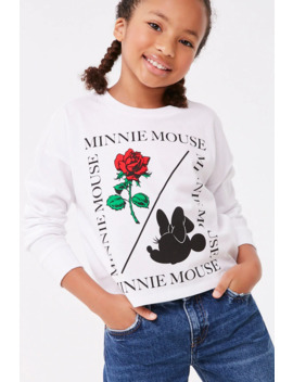 Girls Minnie Mouse Graphic Tee (Kids) by Forever 21