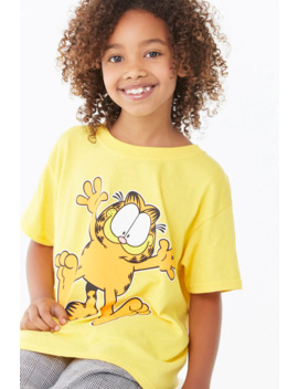 Girls Garfield Graphic Tee (Kids) by Forever 21