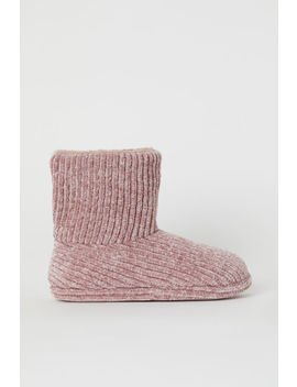 Chenille Slippers by H&M