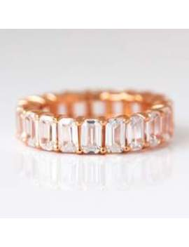 Baguette Ring In Rose Gold Baguette Ring In Rose Gold by Alex Mika
