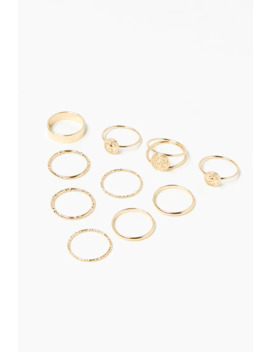 Coin Ring Set by Forever 21
