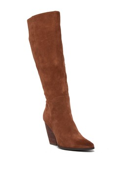 Nelson Leather To The Knee Boot by Charles David