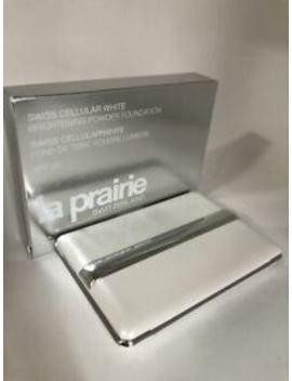 La Prairie Swiss Cellular White Brightening Powder Foundation Beige Claire 20 by La Prairie