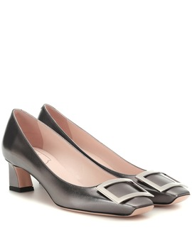 Trompette 45 Leather Pumps by Roger Vivier