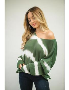 Yours Truly Sweater   Olive by Hazel & Olive
