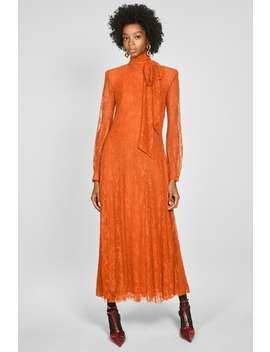 Vestido De Renda E LaÇo by Zara
