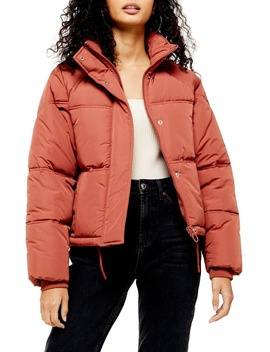 Sasha Puffer Jacket by Topshop