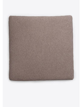 Seed Stitch Wool And Cashmere Pillow by Vince