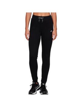 Women's Asics Brushed Fleece Jogger Pants by Asics