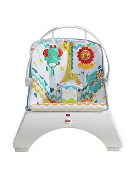Fisher Price Colourful Carnival Comfort Curve Bouncer625/8870 by Argos