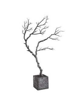 "Glittered Twig 36"" Halloween Tree by Pier1 Imports"