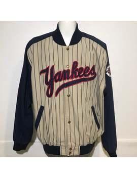 Vintage New York Yankees Jacket Xxl by Etsy
