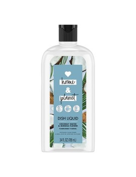 Love Home & Planet Coconut Water & Mimosa Flower Dish Liquid   24 Fl Oz by Love Home And Planet