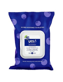 Yes To Blueberries Cleansing Facial Wipes   30ct by Yes To