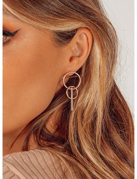 Trapese Hoops by Princess Polly