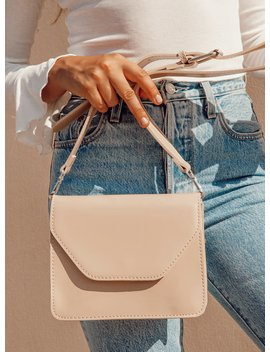 Truthful Bag Beige by Princess Polly