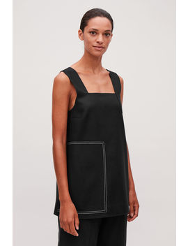 Sleeveless Wool Cashmere Top by Cos
