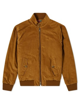 Baracuta G9 Corduroy Harrington Jacket by Baracuta