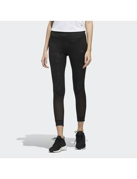 Own The Run 7/8 Graphic Tights by Adidas