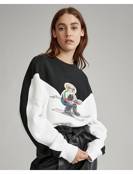 Polo Bear Fleece Crewneck by Ralph Lauren