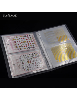 80 Slots Nail Art Sticker Holder Nail Water Decals Empty Storage Holder Manicure Nail Art Tools by Ali Express.Com