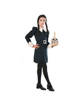 Girls' The Addams Family Wednesday Costume by Rubie's