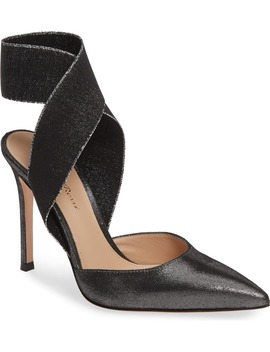 Elastic Ankle Wrap Pump by Gianvito Rossi