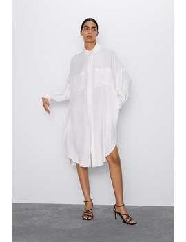 Long Flowy Oversized Blouse by Zara