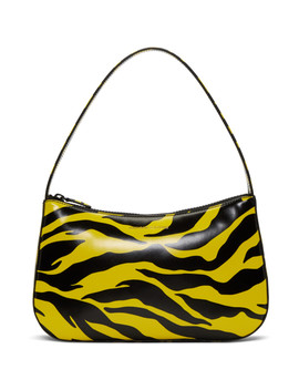 Yellow & Black Tiger Lady Bag by Kwaidan Editions